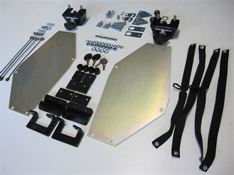 diy luggage rack motorcycle diy side case mount kit for hepco becker side luggage