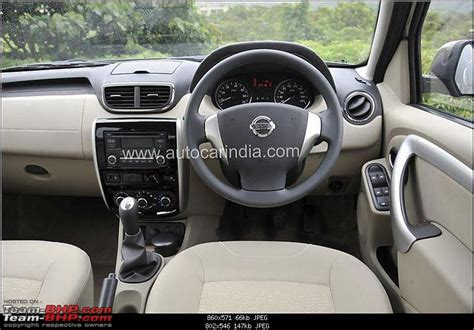 Nissan Terrano India Interior by Nissan Terrano Unveiled To Be Launched In Early October
