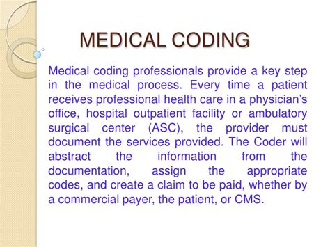 coding house review medical billing process flow chat slideshare share the knownledge