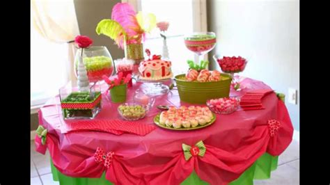 home decorating ideas for birthday party home birthday party table decoration ideas doovi