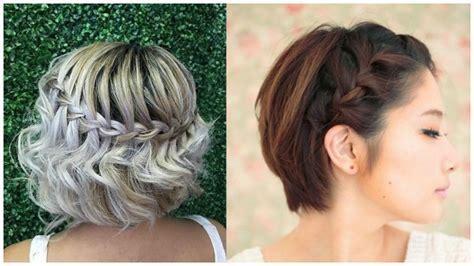 peinados cabello corto moda peinados de trenzas hermosos para cabello corto soy moda