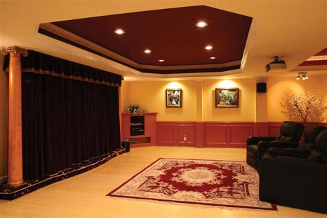 basement design how to light a room for the ultimate home theater