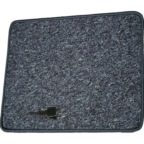 heated rugs heated carpet mat procar by paroli l x w 60 cm x 100 cm 230 v from conrad