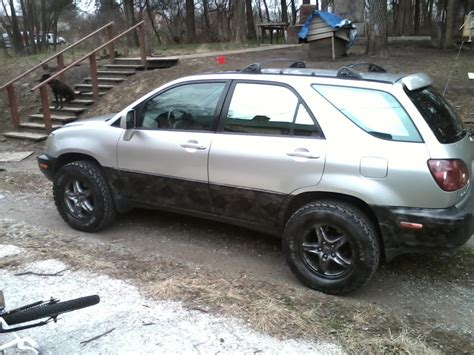 lifted lexus rx lifted rx300 with big tires 99 03 lexus rx300 lexus