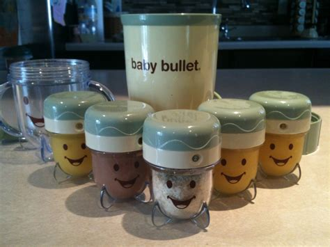 Baby Bullet Food Blender best blender for baby food we blenders