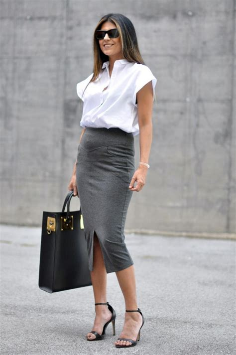10 ways to wear a pencil skirt for work 2018 fashiongum