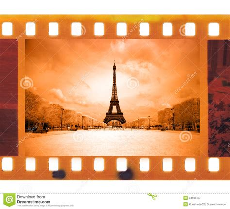 download film eiffel i m in love extended 2004 vintage 35mm frame photo film with eiffel tower in paris