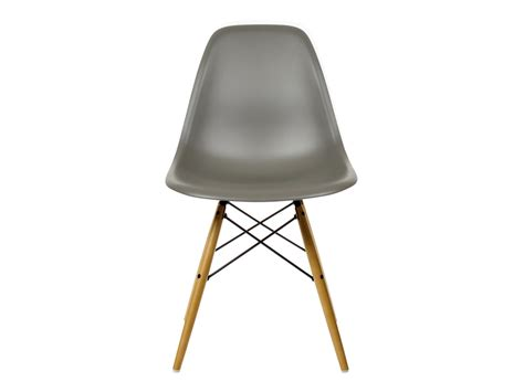 Eames Dsw Chair by Buy The Vitra Dsw Eames Plastic Side Chair Yellowish Maple