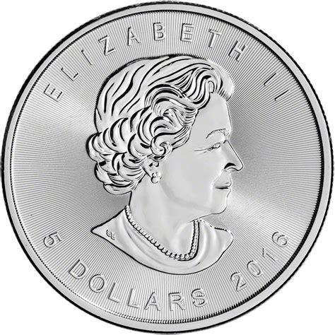 1 oz 2016 canadian maple leaf silver coin 2016 canada silver maple leaf 1 oz 5 bu five 5 coins