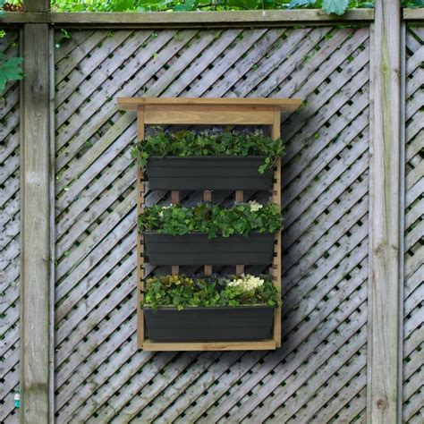 67 Best Images About For The Garden On Pinterest Gardens Living Wall Planter Large Vertical Garden