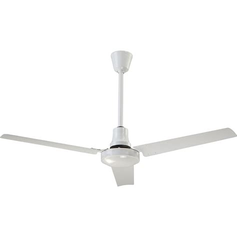 canarm industrial ceiling fan canarm reversible industrial ceiling fan 48in white