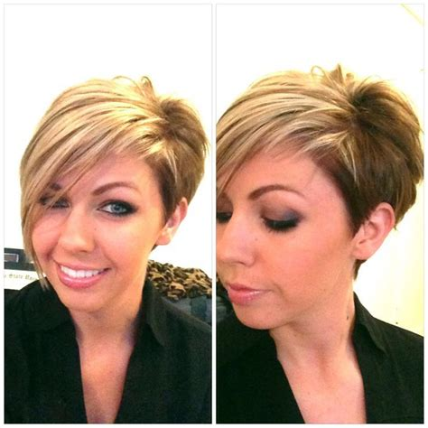 how to cut the perfect asymmetrical bob on thick hair color cut hair pinterest short hair haircuts and