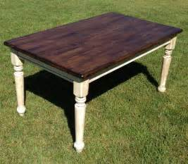 kitchen table refinishing ideas farm table refinished refinishing kitchen table pinterest