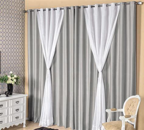 cortina para salas cortina para sala e quarto mombella 3 metros cinza