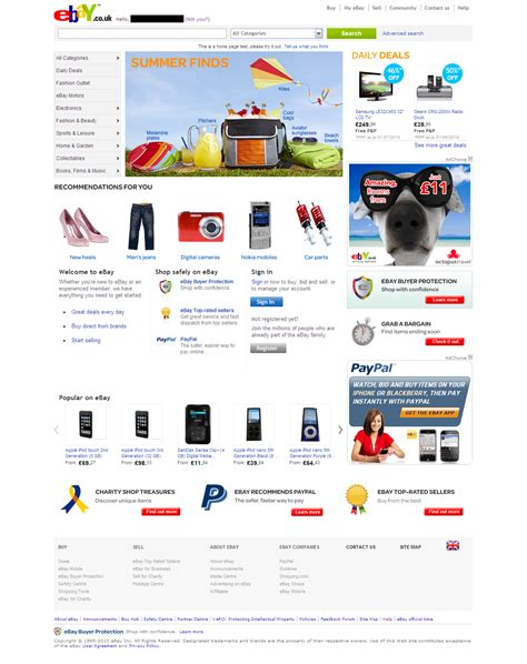 ebay uk tests new home page design tamebay