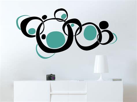 Farben Im Wohnzimmer 3018 by Wandtattoo Retroornament Circles Wandtattoo De