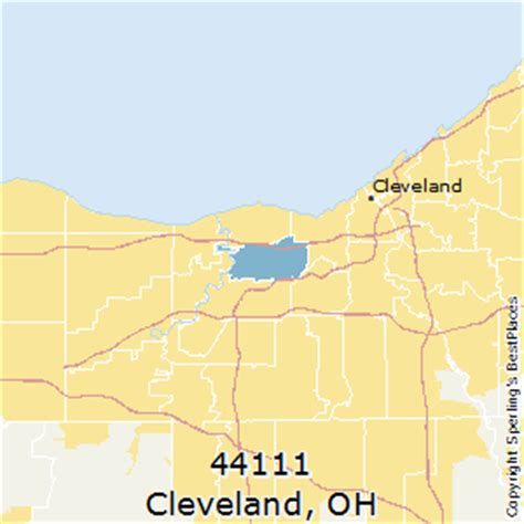 zip code map cleveland best places to live in cleveland zip 44111 ohio