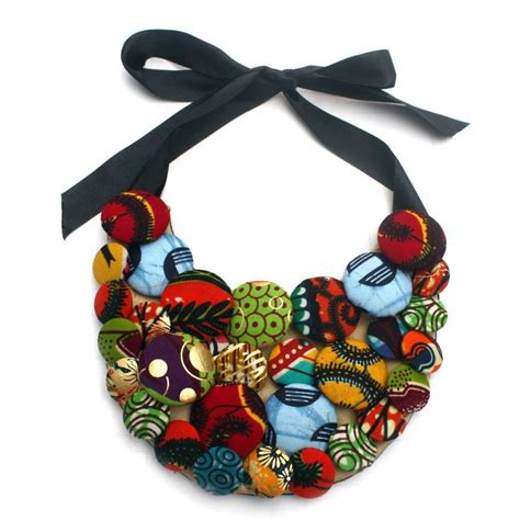Topi Fashion Kpop Rope Decorated Flower Pattern Design 2 17 best images about ankara style necklaces on fabric covered fashion and