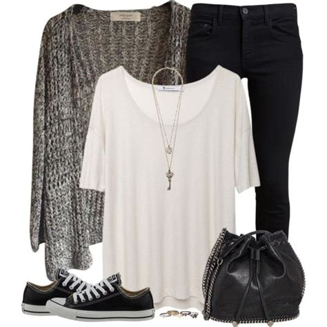 wear black skinny jeans  inspiring polyvore