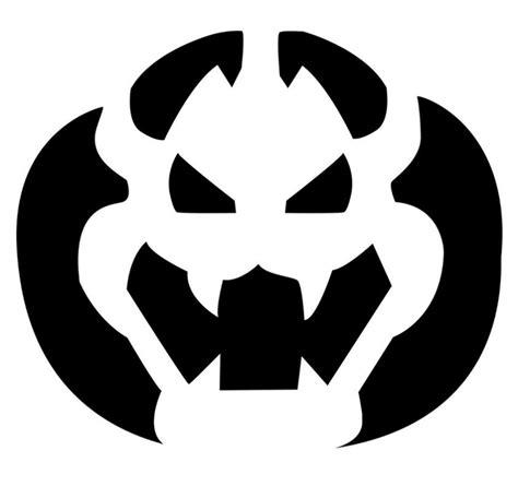 pumpkin stencils nintendo releases official pumpkin carving stencils