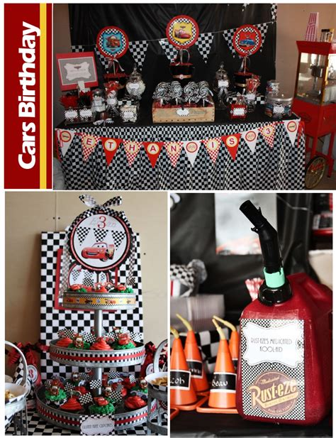 Cars Birthday Decorations by Disney Cars Birthday Pizzazzerie