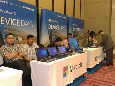 Microsoft Asli microsoft dorong penyebaran windows 10 asli melalui event device days kliknklik official