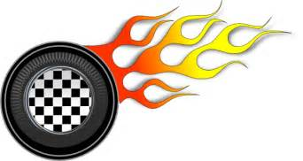 Racing Wheels Illustration Clip Art at Clker.com   vector