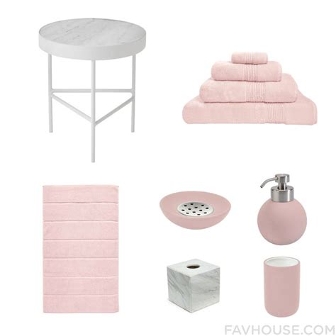 Pink And White Bathroom Accessories by Best 10 Pink Bathroom Decor Ideas On