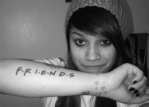tattoo your friend show friends tv show arm tattoo my style pinterest