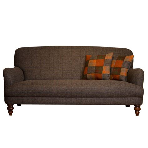 tweed sofas uk tetrad braemar midi harris tweed sofa available to buy