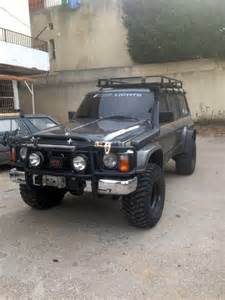 Nissan Patrol For Sale Lebanonoffroad For Sale Fully Equipped Nissan
