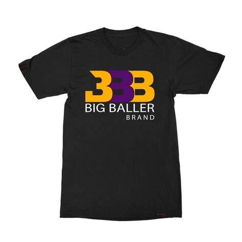 classic bbb t shirt la sho time big baller brand