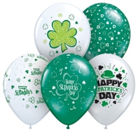 balloon rubber st st patricks day supplies supplies perth