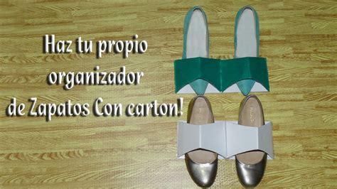 organizador de zapatos en www comprasin com youtube como hacer un sujetador u organizador de zapatos youtube