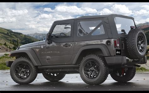 Jeep Wrangler 2014 2014 Jeep Wrangler Willys Wheeler Edition Static 4