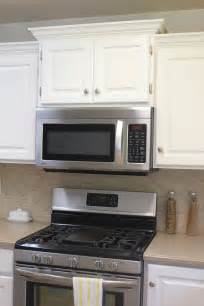 kitchen cabinet for microwave kitchen remodel big results on a not so big budget