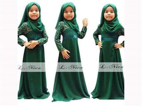 Gamis Anak Lnice Frozen 10thn tren baju muslim anak untuk bulan ramadhan dan lebaran