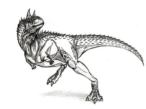 Carnotaurus by soysaurus1 on DeviantArt