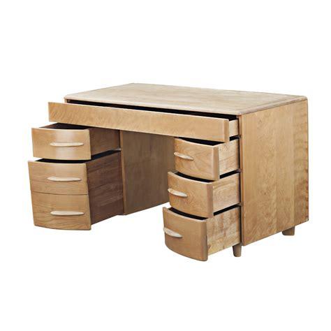 mid century modern heywood wakefield m320 kneehole desk ebay