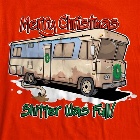 merry christmas shitter  full christmas vacation cousin