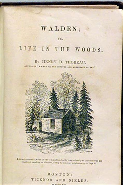 walden book by henry david thoreau walden by henry david thoreau published in 1854 common