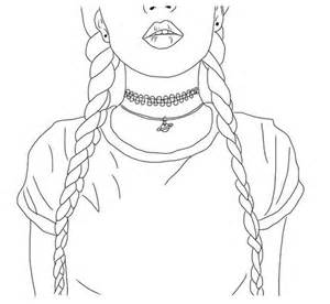 Outline Of A Portrait by My Favourite Outline Drawing On We It