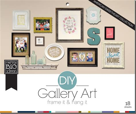 how to do a gallery wall new diy gallery art pads are here me my big ideas