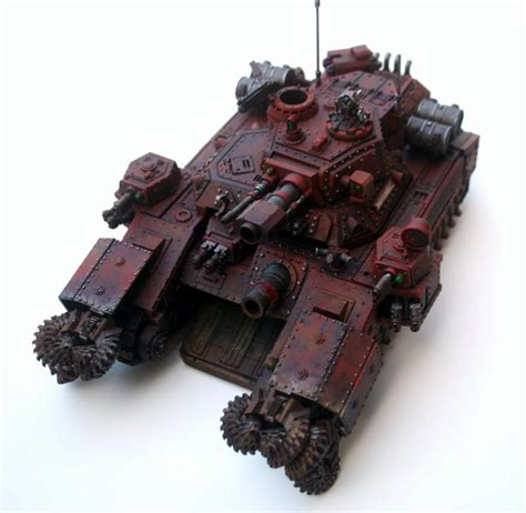 Mecha Blade Chain Blade No3 shadowsword wip in ad mech colours adeptus mechanicus
