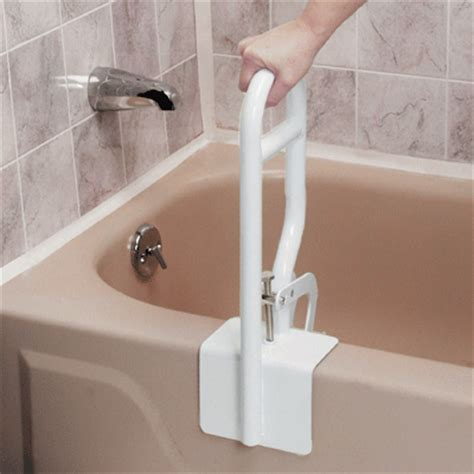bathtub support bar bath bathroom grab bar rail support mobility removable ebay