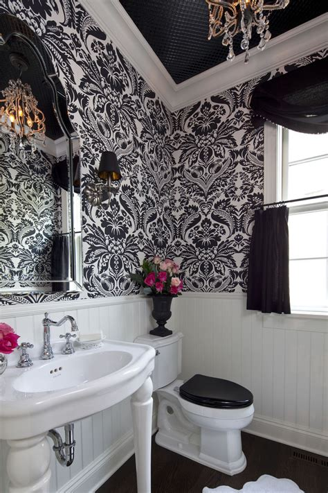 small bathroom ideas black and white fantastic black and white damask bathroom set decorating