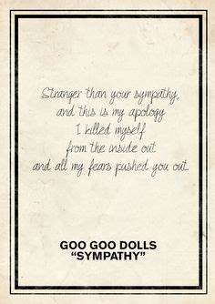 Wedding Song Goo Goo Dolls by 1000 Ideas About Goo Goo Dolls On Say