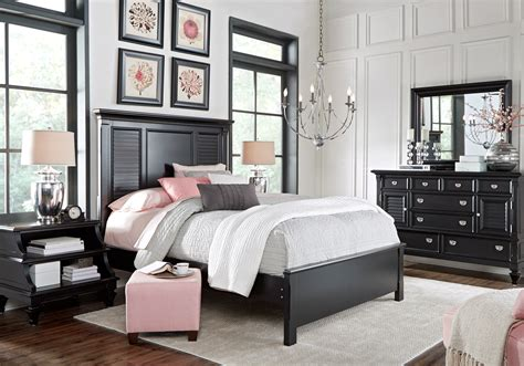 belmar black  pc king bedroom king bedroom sets black