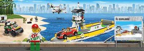 Lego City 60119 Ferry Mainan Anak membangun peradaban bersama lego city gwigwi