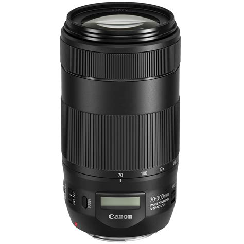 canon ef 70 300mm f 4 5 6 is ii usm lens 0571c002 b h photo